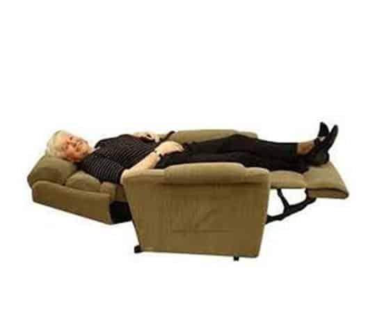 recliner lift-reclined