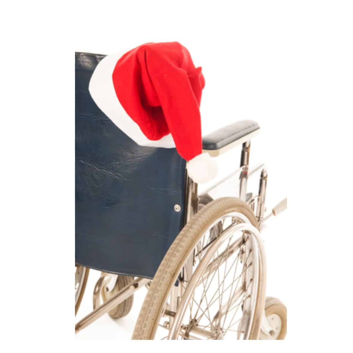 Christmas Wheelchair2