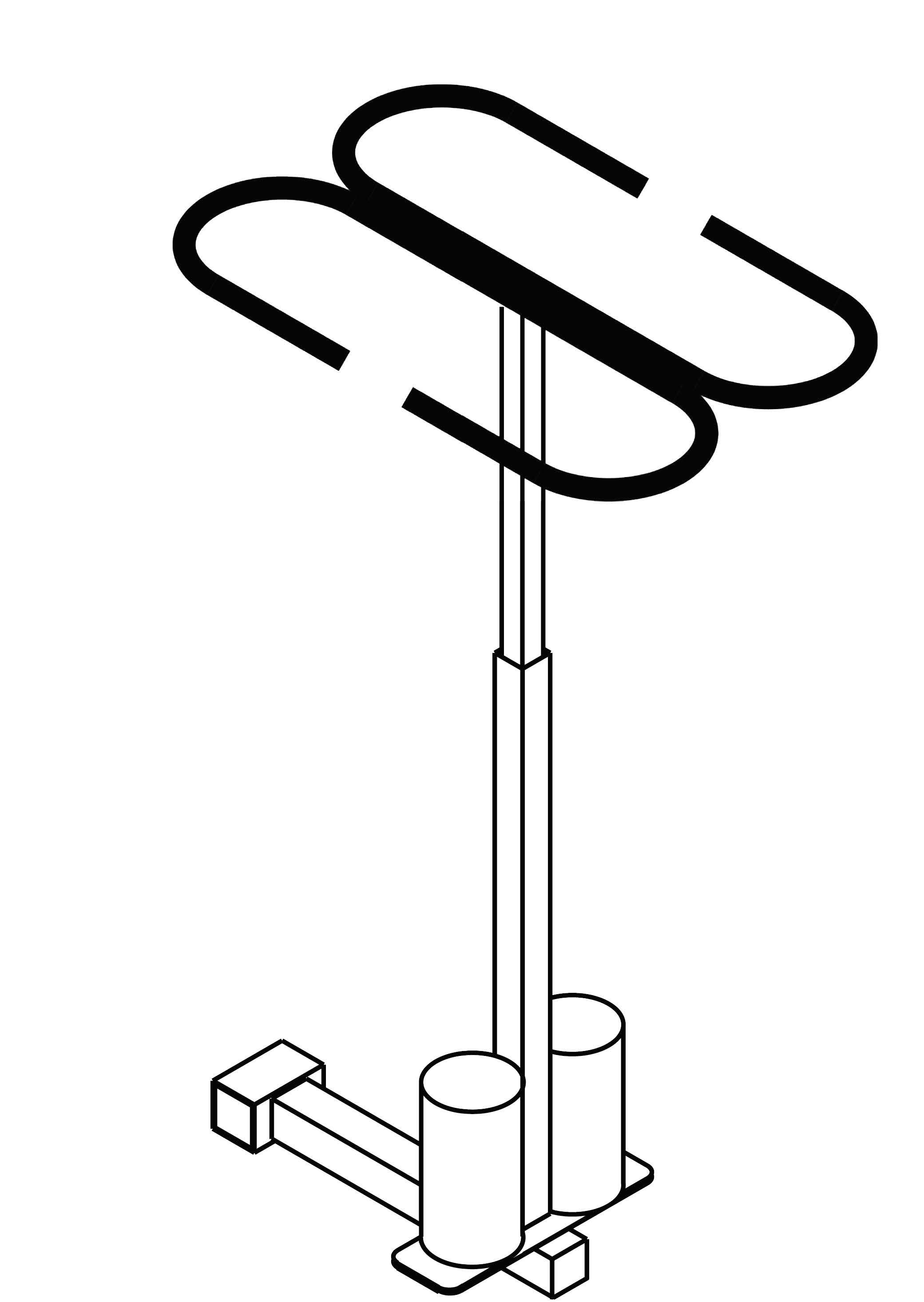 crutch holder poster